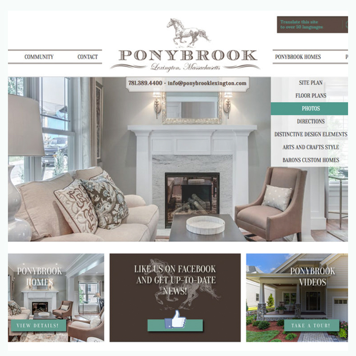 PONYBROOK LEXINGTON BRANDING