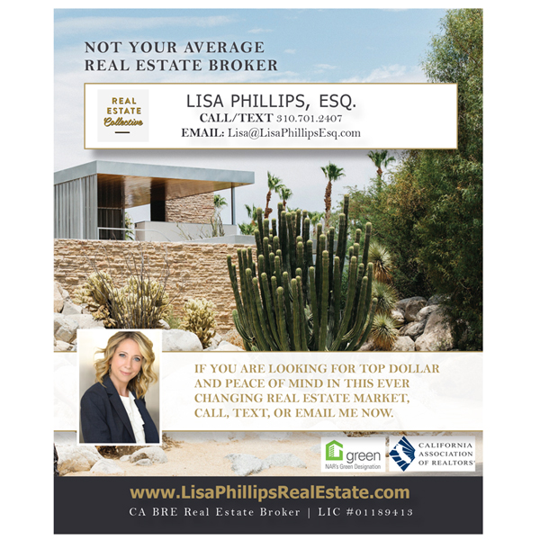 REAL ESTATE BROKER / ATTORNEY LISA PHILLIPS